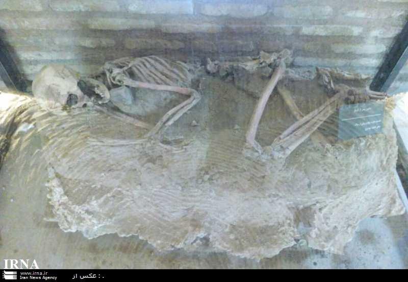 اسکلت 5 هزار ساله