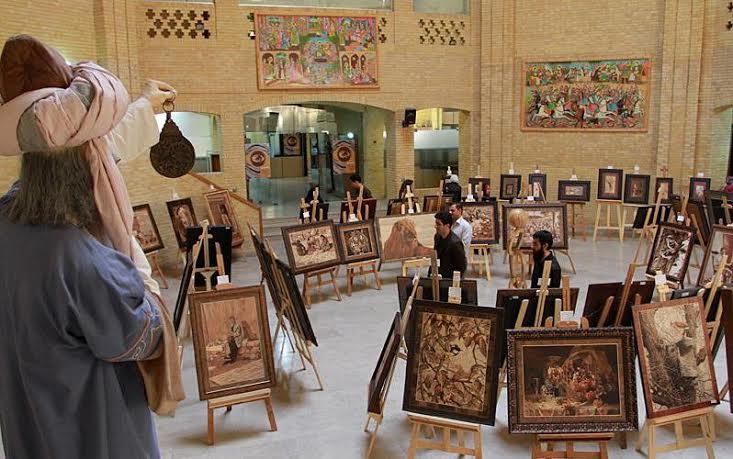 نمایشگاه نگاره های چوبی
